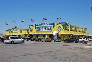 The Big Texan restaurant Amarillo, TX
