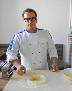 Chef Riccardo Pinzani